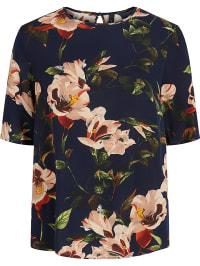Y.A.S Shirt ´´Yaskumi´´ in Dunkelblau | 45% Rabatt | Größe XL | Damen tops | 05713745974523