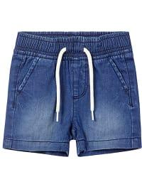 Name it Shorts ´´Ryan´´ in Blau | 58% Rabatt | Größe 86 | Babyhosen | 05713727300593