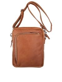 Cowboysbag Leder-Umhängetasche ´´Alva´´ in Hellbraun (B)21 x (H)27 x (T)6 cm | 32% Rabatt | Herrentaschen | 08718586536517