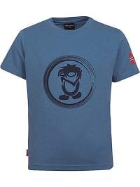 Trollkids Funktionsshirt ´´Trollfjord´´ in Blaugrau | 69% Rabatt | Größe 104 | Kinder oberteile | 04260565418696