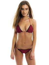 TRELIKA Triangel-Bikini in Rot | 65% Rabatt | Größe M | Damen bademode | 00764272552512