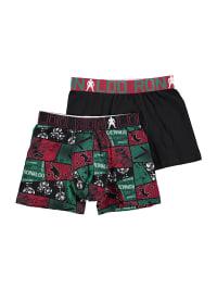CR7 2er-Set: Boxershorts in Rot | 57% Rabatt | Größe 122-134 | Kinder waesche | 05709405552361