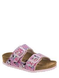 Birkenstock Leder-Pantoletten ´´Arizona´´ in Rosa Weite S | 56% Rabatt | Größe 36 | Kinder clogs | 04052605777807
