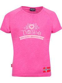 Trollkids Funktionsshirt ´´Heritage´´ in Pink | 69% Rabatt | Größe 92 | Kinder oberteile | 04260565419075