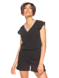 Saint Germain Paris Jumpsuit ´´Sonia´´ in Schwarz | 74% Rabatt | Größe XL | Damenhosen | 07525193275804