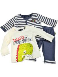 Blue Seven 3tlg. Outfit in Dunkelblau   68% Rabatt   Größe 68   Babyjacken   04055851781741