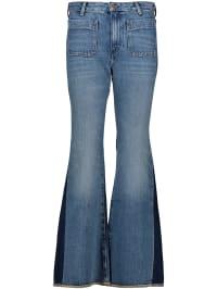Wrangler Jeans Flared in Blau | 68% Rabatt | Größe W29/L30 | Damenjeans | 05400597436629