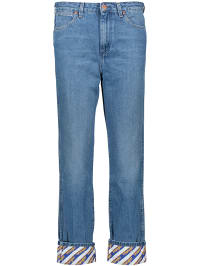 Wrangler Jeans Boyfriend fit in Blau | 67% Rabatt | Größe W32/L32 | Damenjeans | 05400597437244