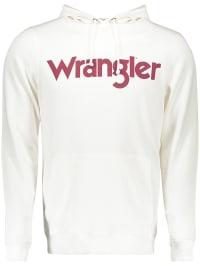 Wrangler Kapuzenpullover in Weiß | 64% Rabatt | Größe XXL | Herren pullover strick | 05400597353476