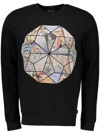 Wrangler Sweatshirt in Schwarz | 64% Rabatt | Größe XL | Herren pullover sport | 05400597354367