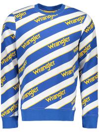Wrangler Sweatshirt in Blau | 66% Rabatt | Größe XXL | Herren pullover sport | 05400597354473