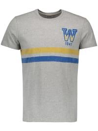 Wrangler Shirt in Grau | 69% Rabatt | Größe L | Herrenshirts | 05400597747541