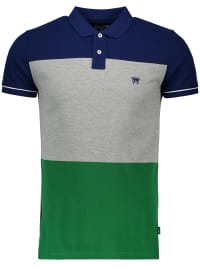 Wrangler Poloshirt in Blau   68% Rabatt   Größe S   Herrenshirts   05400597355906