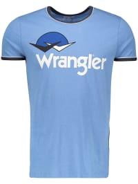 Wrangler Shirt in Hellblau   63% Rabatt   Größe S   Herrenshirts   05400597357450