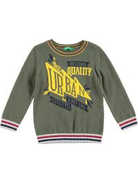 Benetton Strickpullover in Khaki | 43% Rabatt | Größe 158/164 | Babypullover | 08300900202309