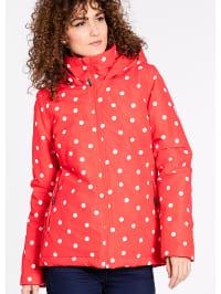 Blutsgeschwister Übergangsjacke ´´A Hut in the Wood´´ in Rot/ Weiß | 68% Rabatt | Größe XS | Damenjacken | 04051479751999
