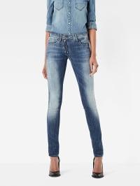 G-Star Jeans ´´Lynn´´ Skinny fit in Blau   56% Rabatt   Größe W34/L30   Damenjeans   08718599673704