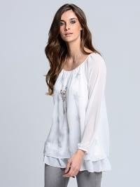 Alba Moda Bluse in Weiß | 68% Rabatt | Größe 48 | Damen blusen | 04055716539340