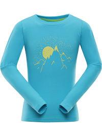 Alpine Pro Funktionsshirt ´´Didilo´´ in Hellblau | 49% Rabatt | Größe 116/122 | Kinder oberteile | 08592645737066