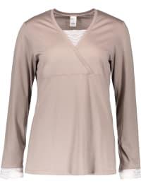 - Calida Pyjama ´´Almada´´ in Beige | 33% Rabatt | Größe XS | Damenwaesche | 07613306481300