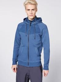Chiemsee  Sweatjacke ´´Jay Peak´´ in Blau | 63% Rabatt | Größe XXL | Herren pullover sport | 04054583252437