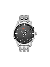 Hugo Boss Orange  Quarzuhr ´´Stockholm´´ in Silber | 38% Rabatt | Herrenuhren | 07613272271448