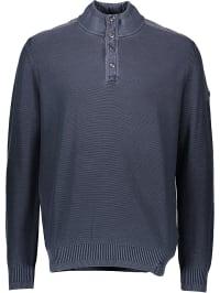 Camel Active Pullover in Dunkelblau | 45% Rabatt | Größe M | Herren pullover strick | 04041227871406
