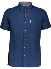 Ben Sherman  Hemd Regular Fit in Blau | 71% Rabatt | Größe XS | Herrenhemden | 05057020285301