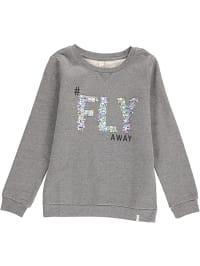 ESPRIT  Sweatshirt in Grau | 57% Rabatt | Größe 164/170 | Kinderpullover strick | 03663760850581