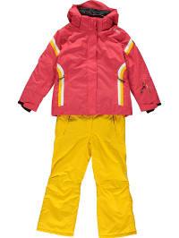 CMP 2tlg. Outfit: Ski-/ Snowboardjacke und -hose in Rot   33% Rabatt   Größe 128   Kinder outdoor   08055199642564