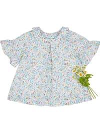 Benetton  Bluse in Weiß | 52% Rabatt | Größe 74 | Baby blusen | 08033074937080