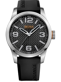 Hugo Boss Orange  Quarzuhr ´´Paris´´ in Schwarz | 31% Rabatt | Herrenuhren | 07613272205115