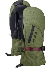 Burton  Ski-/ Snowboardfäustlinge ´´Baker´´ in Khaki | 50% Rabatt | Größe XS | Damen outdoor accessoires | 09009521093875