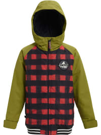 Burton  Ski-/ Snowboardjacke ´´Gameday´´ in Khaki | 59% Rabatt | Größe 176 | Kinder outdoor | 09009521121967