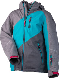 Killtec  Ski-/ Snowboardjacke ´´Viktoria´´ in Grau | 57% Rabatt | Größe 164 | Kinder outdoor | 04061393074715