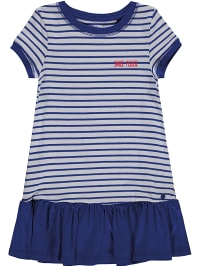 Marco polo jersey kleid rot