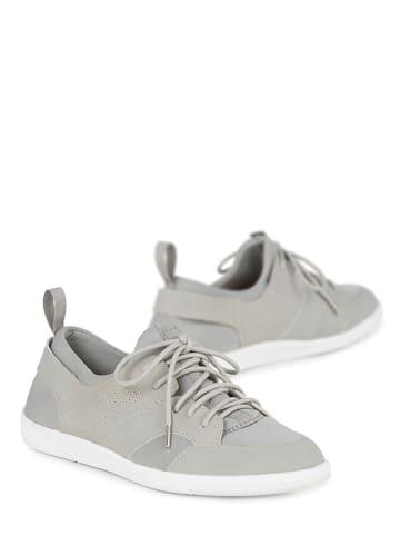 Auffälligen Taupe Grau Sneaker High Sneaker High Sneaker