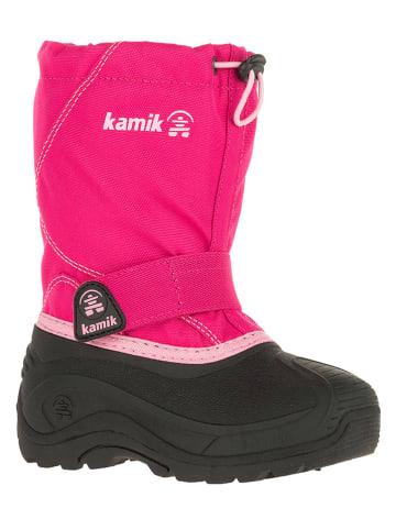 Mädchen Stiefel von Clic in rosa für Mädchen. Gr. 27,28 von