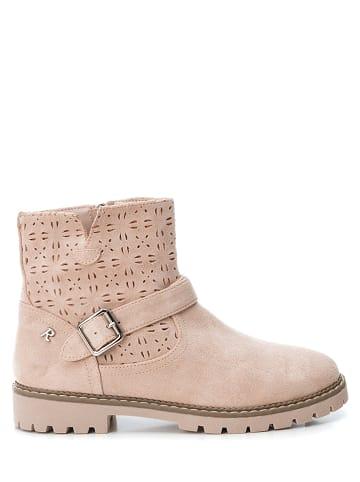 Kmins woman Leder Ankle Boots in Dunkelgrau 7294513 liefert