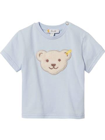 /%/% STEIFF Little Bear Boys Shirt grau mit Eisbär Gr.56-86 NEU /%/%