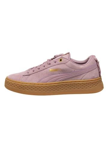 Puma Sneaker rot purple lila Velourleder