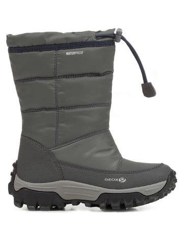 NEU Jungen Winter Stiefel Boots Schuhe Gr. 36 schwarzgrau