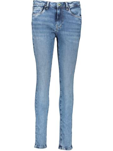 Stretch-Jeans von LITTLE BIG LTB Damen Hose Jeans blau Nieten NEU