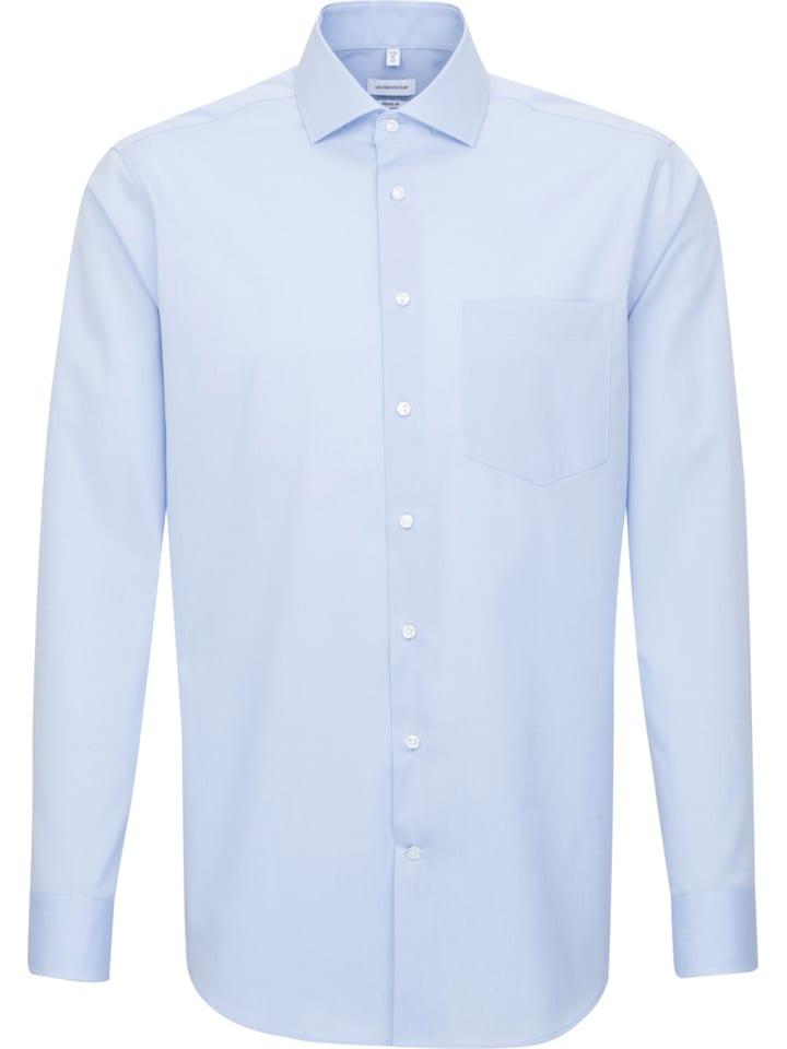 Seidensticker Hemd - Regular fit - in Hellblau