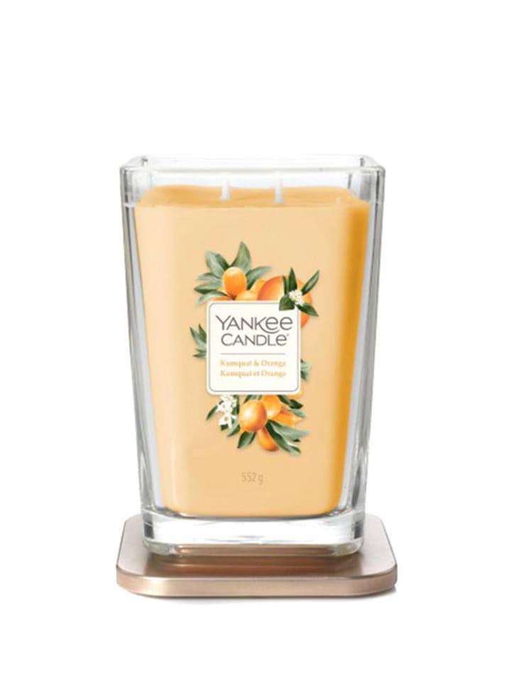 "Yankee Candle Duża świeca zapachowa ""Elevation"" - Kumquat & Orange"