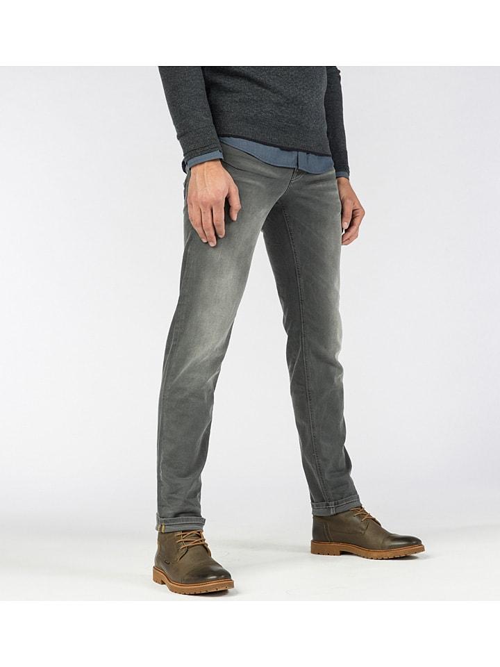 Spijkerbroek - slim fit - grijs