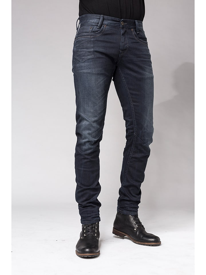 PME Legend Spijkerbroek - slim fit - donkerblauw
