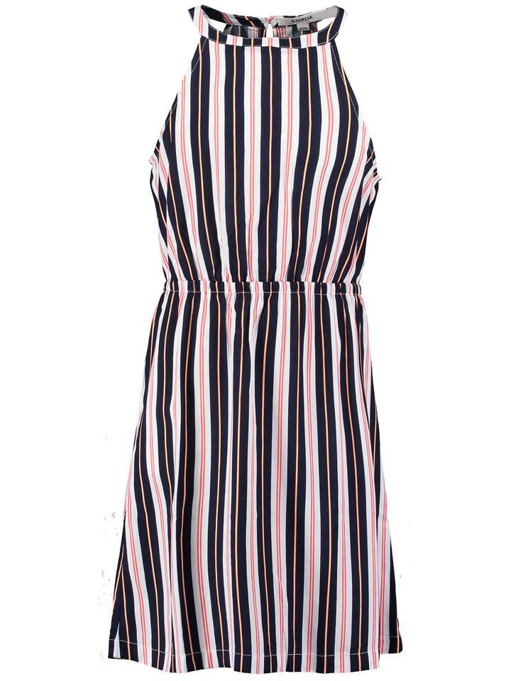 Garcia Sukienka w kolorze granatowo-białym