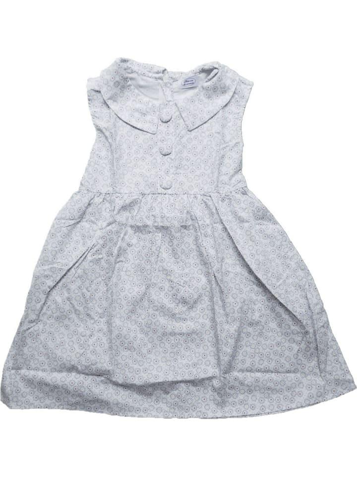 Deux ans de vacances Sukienka w kolorze biało-błękitnym