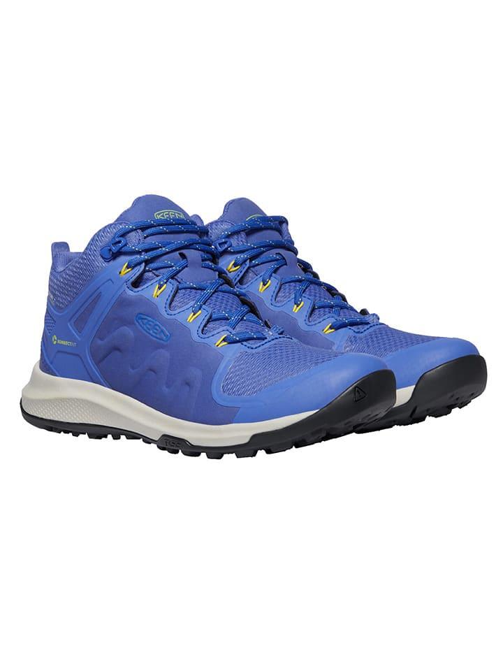 """Keen Sneakersy """"Explore"""" w kolorze niebieskim"""